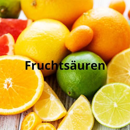 Fruchtsäuren in der Kosmetik